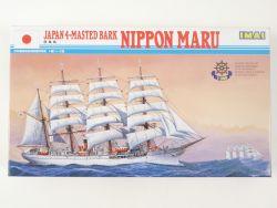 IMAI Japan 4-Masted Bark Nippon Maru 1/350 Segelschiff Kit MIB OVP