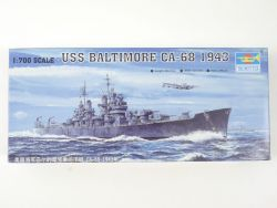 Trumpeter 05724 USS Baltimore CA-68 1943 1/700 Kit NEU! OVP