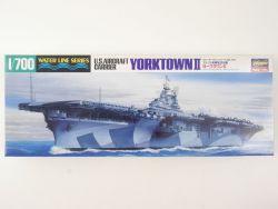 Hasegawa Water Line US Aircraft Carrier Yorktown 1/700 NEU! OVP