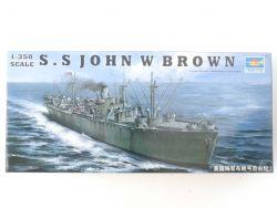 Trumpeter 05308 Liberty Ship John Brown 1/350 Model Kit NEU! OVP