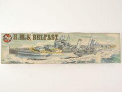 Airfix 04212-3 HMS Belfast 1/600 Bausatz Model Kit GB RARE! OVP