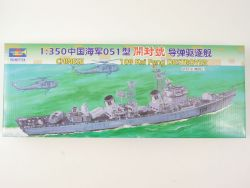 Trumpeter Chinese Destroyer 109 Kai Feng 1/350 ohne Motor TOP! OVP