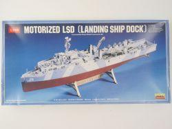 Lindberg 765 US Navy LSD Landing Ship Dock 1/288 Motor RARE! OVP