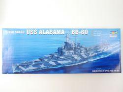 Trumpeter 05307 Battleship USS Alabama BB-60 1/350 Model NEU! OVP