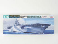 Hasegawa US Navy Aircraft Carrier Ticonderoga 1/700 TOP! OVP
