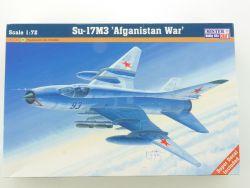 MisterCraft Su-17M3 Afganistan War USSR Jet 1/72 Kit NEU! OVP