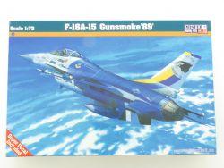 MisterCraft F-16A-15 Gunsmoke 89 Jet 1/72 Kit NEU! OVP