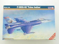 MisterCraft F-16CG-42 Tulsa Indian Jet US Air Force 1/72 NEU OVP