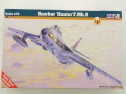 MisterCraft Hawker Hunter F. Mk. 6 VI Britain 1/72 NEU! OVP
