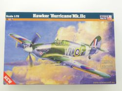 MisterCraft Hawker Hurricane Mk. IIc Fighter 1/72 Kit NEU! OVP
