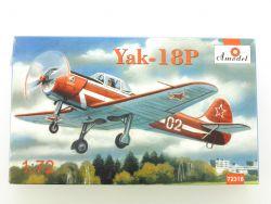 Amodel Yak-18P USSR Flugzeug Airplane Fighter 1/72 Kit NEU! OVP