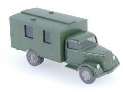 Wiking 3360/1A Opel Blitz Mannschaftswagen Militär kein Emblem