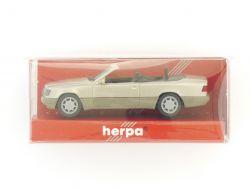 Herpa 031431 Mercedes MB E 320 Cabriolet silber 1:87 NEU! OVP