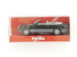 Herpa 021128 Mercedes MB 300 CE Cabrio schwarz 1:87 TOP! OVP