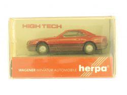 Herpa 2516 High Tech Mercedes MB 500 SL Modellauto 1:87 OVP