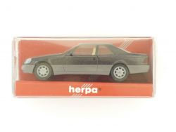 Herpa 021135 MB Mercedes 600 SEC metallic 1:87 Modellauto OVP