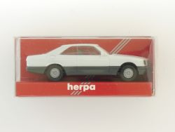 Herpa Mercedes 560 SEC Coupe W 126 weiß 1:87 Modellauto OVP