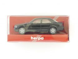 Herpa 021401 MB Mercedes C 220 schwarz 1:87 Modellauto TOP! OVP