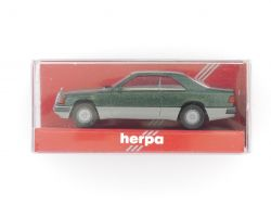 Herpa 3064 Mercedes MB 300 CE Coupe grün metallic 1:87 TOP! OVP