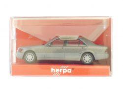 Herpa 3094 Mercedes MB 600 SEL silber 1:87 Modellauto NEU! OVP