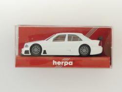 Herpa 021883 Mercedes MB AMG C 180 DTM weiß 1:87 NEU! OVP
