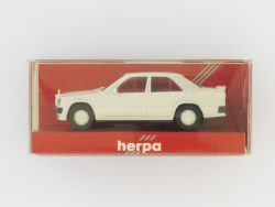 Herpa 2042 Mercedes MB 190 E 2,3-16 weiß 1:87 Modellauto NEU OVP