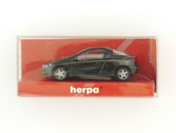 Herpa 021746 Opel Tigra schwarz Modellauto 1:87 NEU! OVP