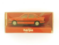 herpa 2072 Opel Vectra Stufenheck Modellauto rot 1:87 OVP