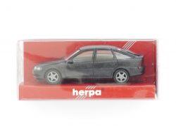 herpa 031912 Opel Vectra Fließheck Modellauto schwarz 1:87 OVP