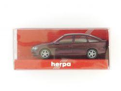 herpa 031912 Opel Vectra Fließheck Modellauto weinrot 1:87 OVP