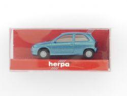 Herpa 021395 Opel Corsa GSi 2türig türkis Modelauto 1:87 NEU OVP