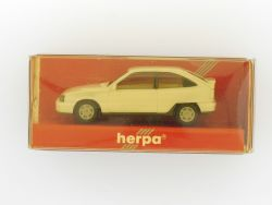 Herpa 2046 Opel Kadett GSi weiß Modellauto 1:87 TOP OVP