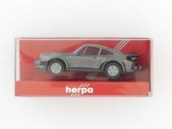 herpa 2060 Porsche 911 Turbo Modellauto PKW 1:87 TOP! OVP