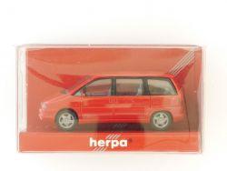 herpa 021654 Peugeot 806 Modellauto PKW rot 1:87 TOP! OVP