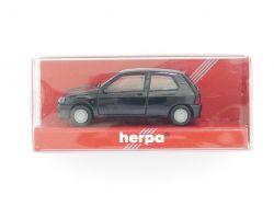 herpa 021364 Renault Clio 16 V Modellauto schwarz 1:87 TOP! OVP