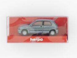 herpa 031363 Renault Clio 16 V Modellauto blau met 1:87 TOP! OVP