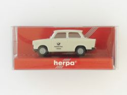 herpa 4132 Trabant 601 S Trabi Postreklame Modellauto NEU! OVP