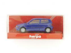 Herpa 021692 VW Polo 2türig blau Modellauto 1:87 H0 OVP