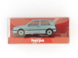 Herpa 031158 VW Golf GL 2türig metallic Modellauto 1:87 H0 OVP