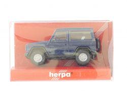 Herpa 2085 Mercedes MB 300 GE G-Klasse blau 1:87 TOP! OVP