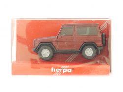 Herpa 2085 Mercedes MB 300 GE G-Klasse weinrot 1:87 TOP! OVP