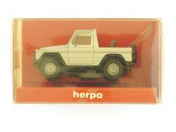 Herpa 3075 Mercedes 230 GE Cabrio silber Modellauto 1:87 TOP OVP