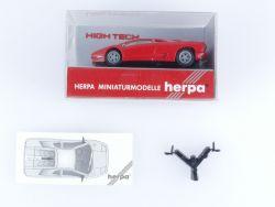 Herpa 025423 HighTech Lamborghini Diablo Rot Modellauto 1:87 OVP