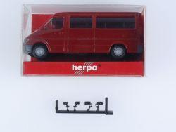 Herpa 042543 Mercedes MB Sprinter T1 N Bus Rot 1:87 H0 OVP