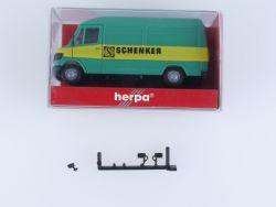 Herpa 4124 Mercedes 207 D Transporter Schenker Modellauto H0 OVP