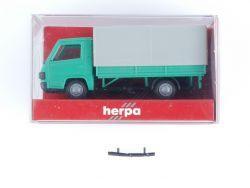 Herpa 4104 Mercedes MB 100 D Pritschenwagen Plane 1:87 OVP