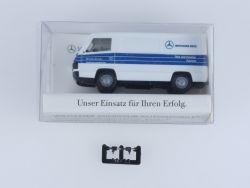 Herpa Mercedes 100 D Kasten MB Teile und Zubehör Express MUC OVP