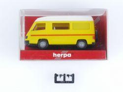 Herpa 042307 Mercedes MB 100 D Bus Hochdach Wohnmobil 1:87 OVP