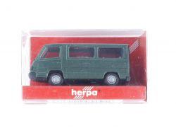 Herpa 041386 MB Mercedes 100 D Bus Grünmet Modellauto 1:87 OVP