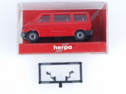 Herpa 041560 VW VT4 Bus Caravelle Rot Modellauto 1:87 H0 OVP